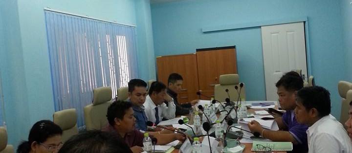 การประชุมคณะกรรมการสภาคณาจารย์และข้าราชการ ครั้งที่ 2/2559